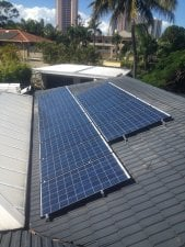 Solar Power Broadbeach Waters - Tony's 3.43kW Solar Power System proudly supplied and installed by Gold Coast Solar Power Solutions