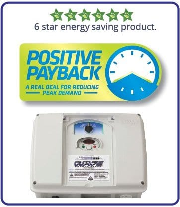 Future Wave energy saving drives are an eligible product under Energex's Positive Payback scheme
