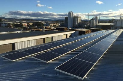 100kW of solar panels installed by Gold Coast Solar Power Solutions