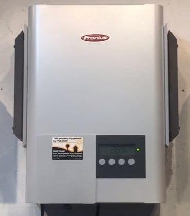 IS your Fronius inverter only producing a low amount of power?
