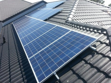Gullivers Coomera roof, solar panels installed by Gold Coast Solar Power Solutions.