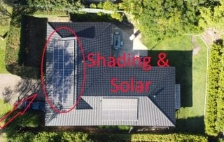 Shading and solar power