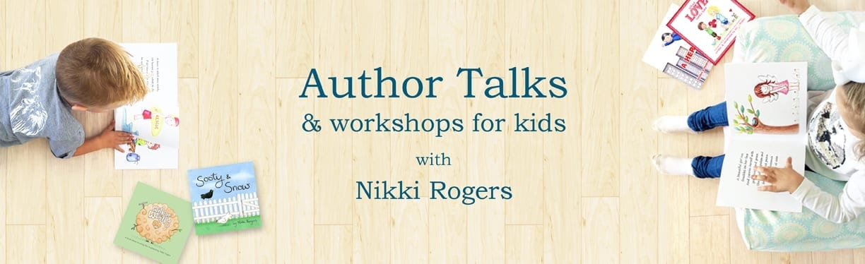 Author talks and storytime sessions with Nikki Rogers